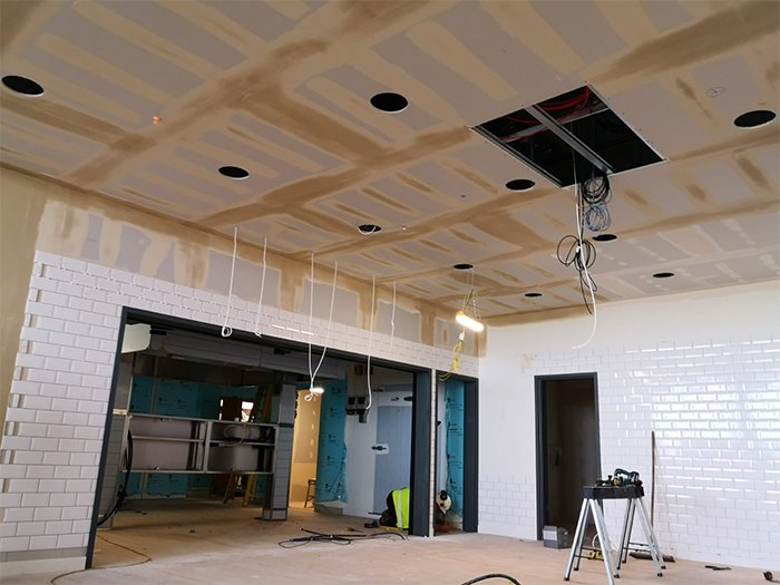 TPLS Interiors _ Suspended Ceiling Contractor