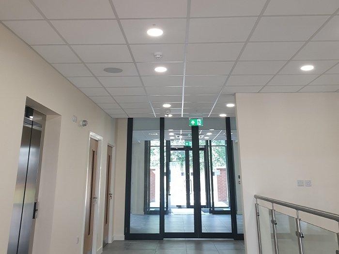 office ceilings