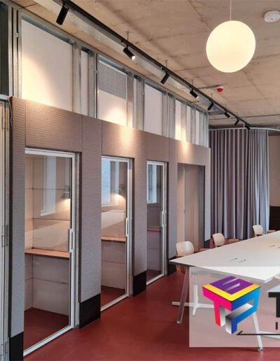 london design district interior meeting space
