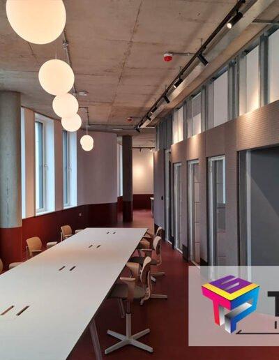 london design district interior social space