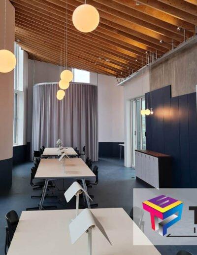 london design district interior workspace